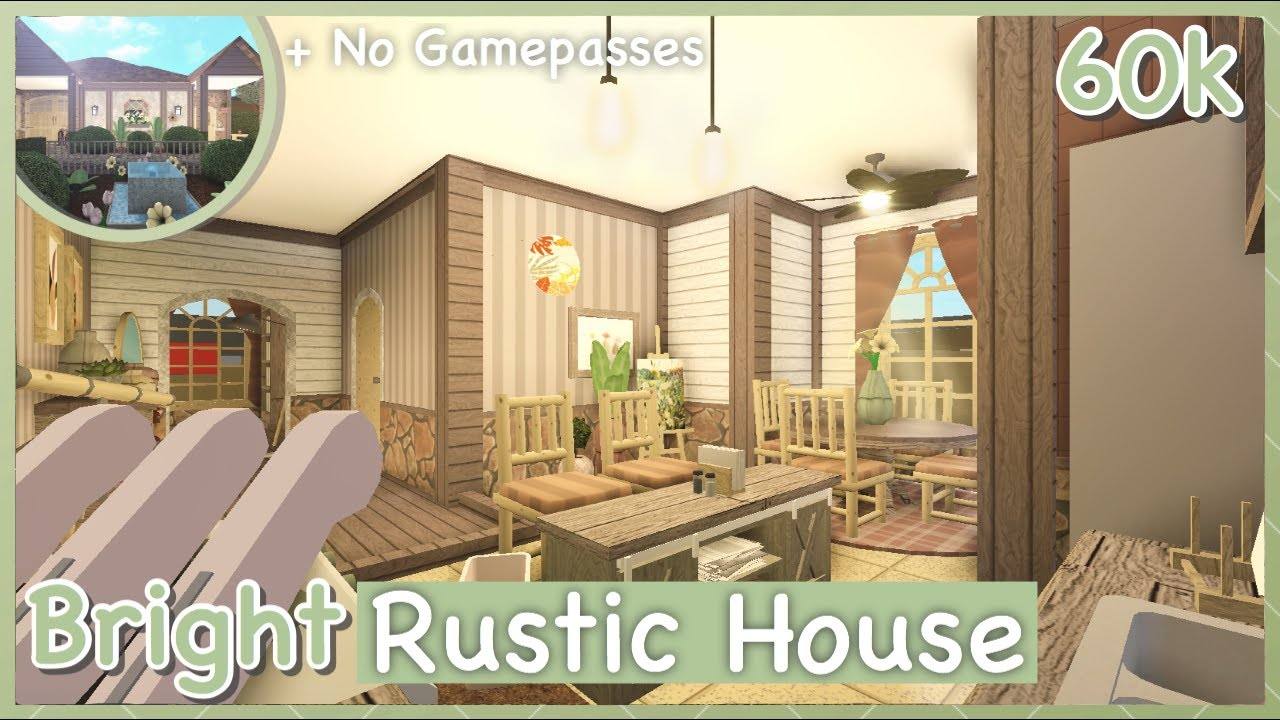Rustic Living Room Ideas Bloxburg
