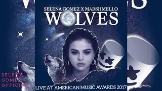 Selena gomez x marshmello - wolves (live at amas 2017) [audio]