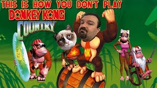 This is How You DON'T Play Donkey Kong Country (Pocok and Memology 101 Edition)