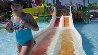 Aqua park keyfi muhteşem🏖🏖🏖🏖🏖🏘