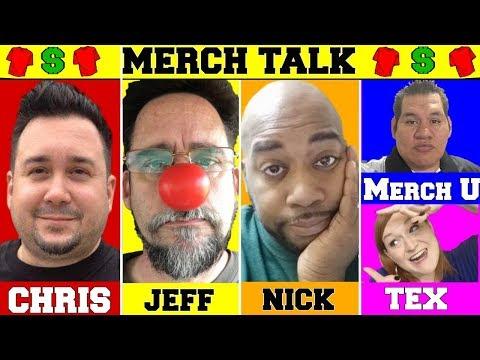 Merch Talk 2018 - Merch Collab by Amazon News - Calling a Copycat Live