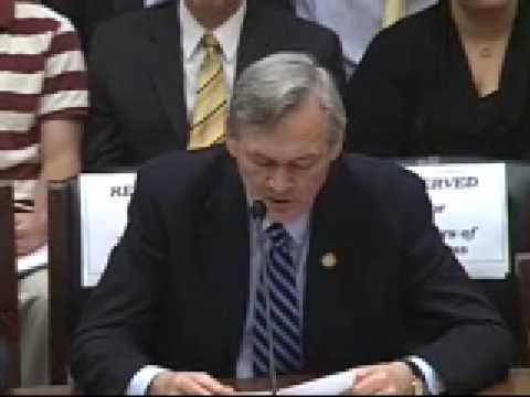 Congressman Moore Testifies Before the House Financial Services Committee - 9/25/08