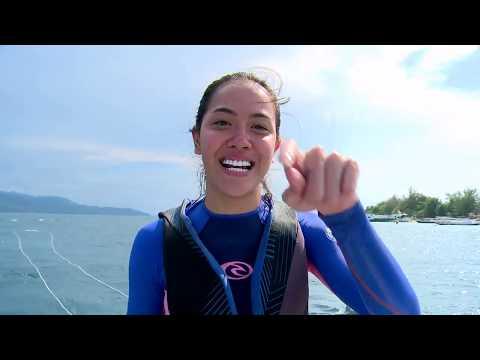 MY TRIP MY ADVENTURE - Seru Banget! Parasailing Di Gili Trawangan (31/12/17) Part 1
