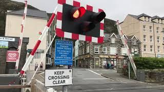 *Faulty Alarm* Barmouth Station Level Crossing (Gwynedd) Wednesday 14.08.2019