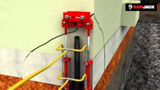 Driven Pile Installation Animation | Ram Jack Products