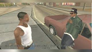 Grand Theft Auto san Andreas ( GTA SA) на андроид.Прохождение  1-я серия