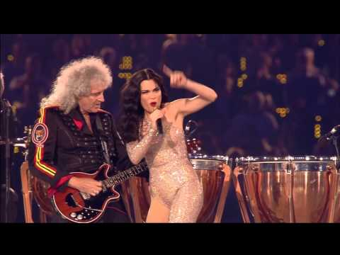Queen & Jessie J  We Will Rock You