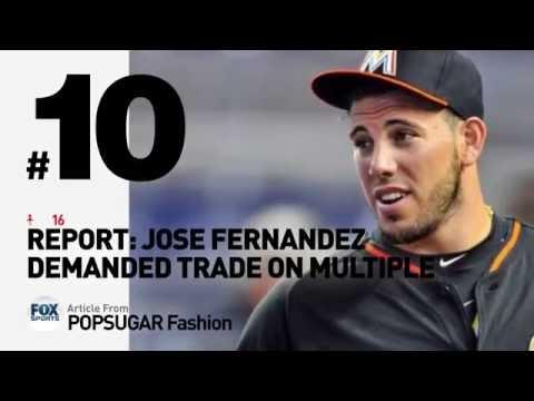 In Memory of JOSE FERNANDEZ // Top 10 Pinterest Posts