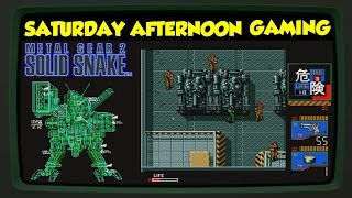 Metal Gear 2: Solid Snake (MSX2) - A 16-bit Metal Gear Solid?? - Saturday Afternoon Gaming