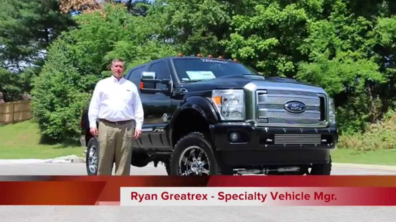 2015 F250 Ftx Platinum Lifted Fully Loaded Youtube