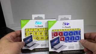iSkin proTouch Visual Assist Keyboard Protector Unboxing And Review @iSkin