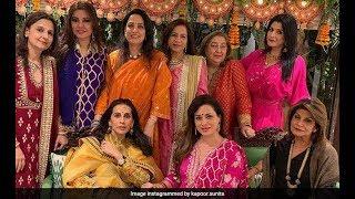 Bollywood Actresses Karwa Chauth Celebrations 2018 | Raveena, Sunita Kapoor