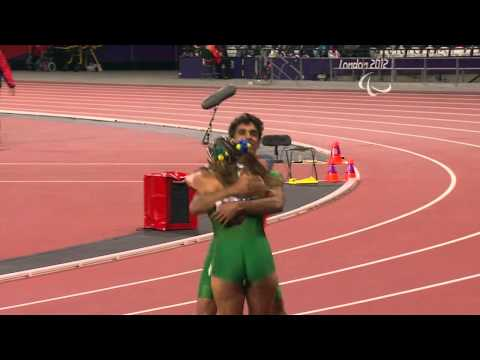 Athletics - Women's 100m - T11 Final - London 2012 Paralympic Games
