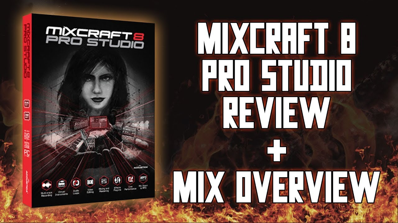 Acoustica Mixcraft 8 Pro Studio Review - Mixing Metal Overview Tutorial