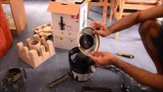 Unboxing Philips Juicer