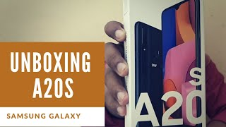 Samsung Galaxy A20s #unboxing | 4gb + 64gb | triple camera