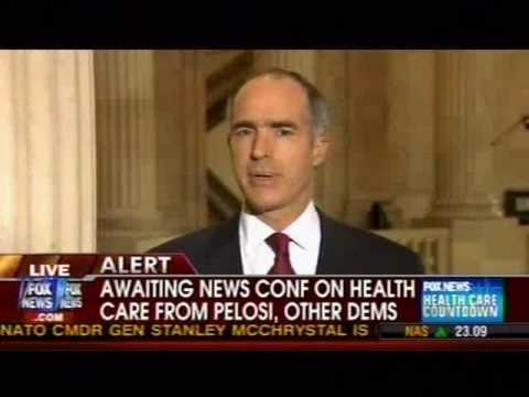 Sen. Bob Casey on FNC about Abortion Fight in Health Care 10-23-2009 09:32