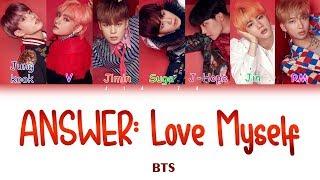 "BTS (방탄소년단) ""Answer : Love Myself"" (Sub indo) Lirik {Color Coded-Rom-Ind}"