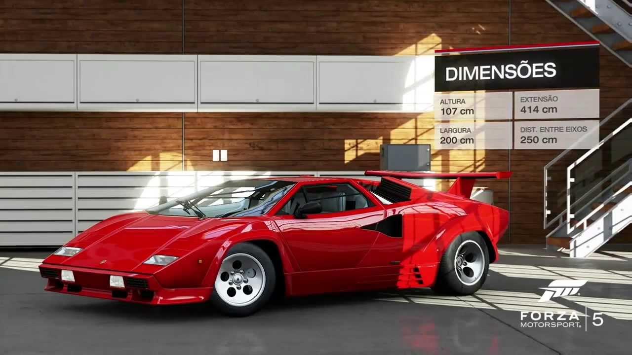4 Flat Spins In One Jump - Lamborghini - Alps Reverse ...  |Lamborghini Countach Reverse