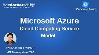 Cloud Computing and Microsoft Azure Training