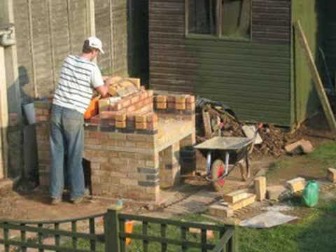 Pizza Oven Bbq Combo Construction YouTube