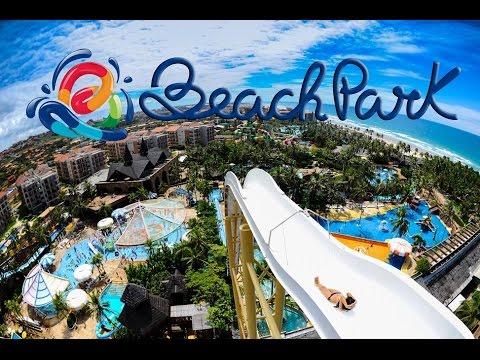 Beach Park - VÍDEO COM TODAS AS ATRAÇÕES
