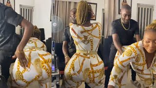 Super Endowed Nollywood Actress, Anita Joseph Twerks Hard On Her Hubby