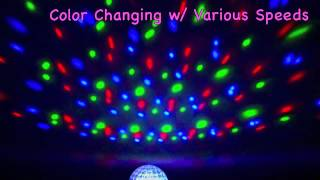 PSYCHO RGB LED DMX Crystal Ball Effect Light