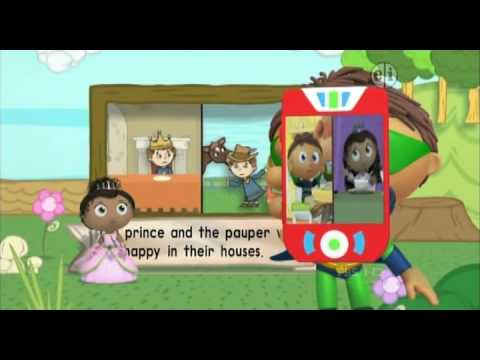 054 Super Why    The Prince and the Pauper