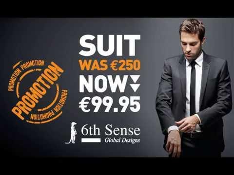 301749103c0 6th Sense Global Designs Suit Promo €99.95 - YouTube