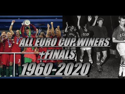 ALL EURO CUP WINNERS+ALL FINALS 1960-2020 - YouTube