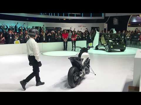 Honda Self-Balancing Bike