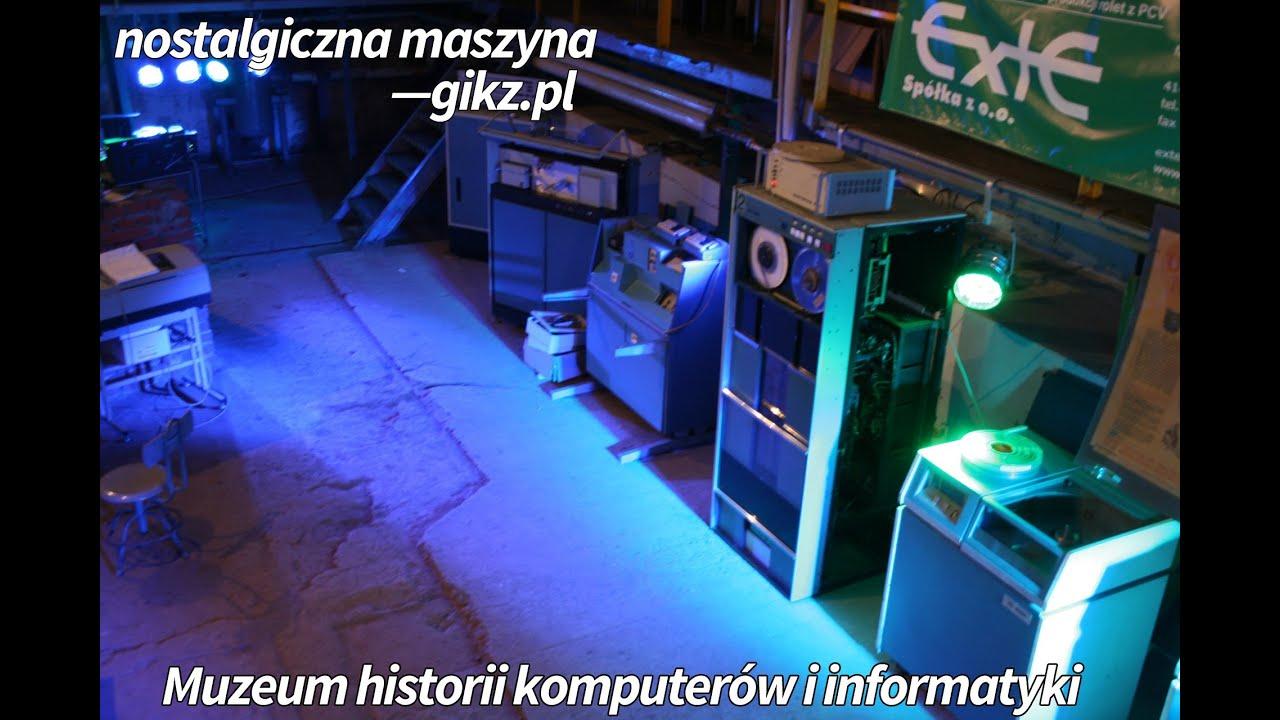 Nostalgiczna maszyna - Muzeum Historii komputerów i informatyki - gikz.pl Nitek