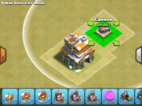COC Building Stacking Glitch