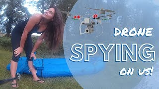 Gunshots and drone following us in the forest  | The Scottish Diaries | Ep.11