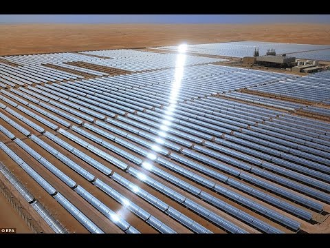 Megastructure - World Largest Solar Plant Construction Documentary.