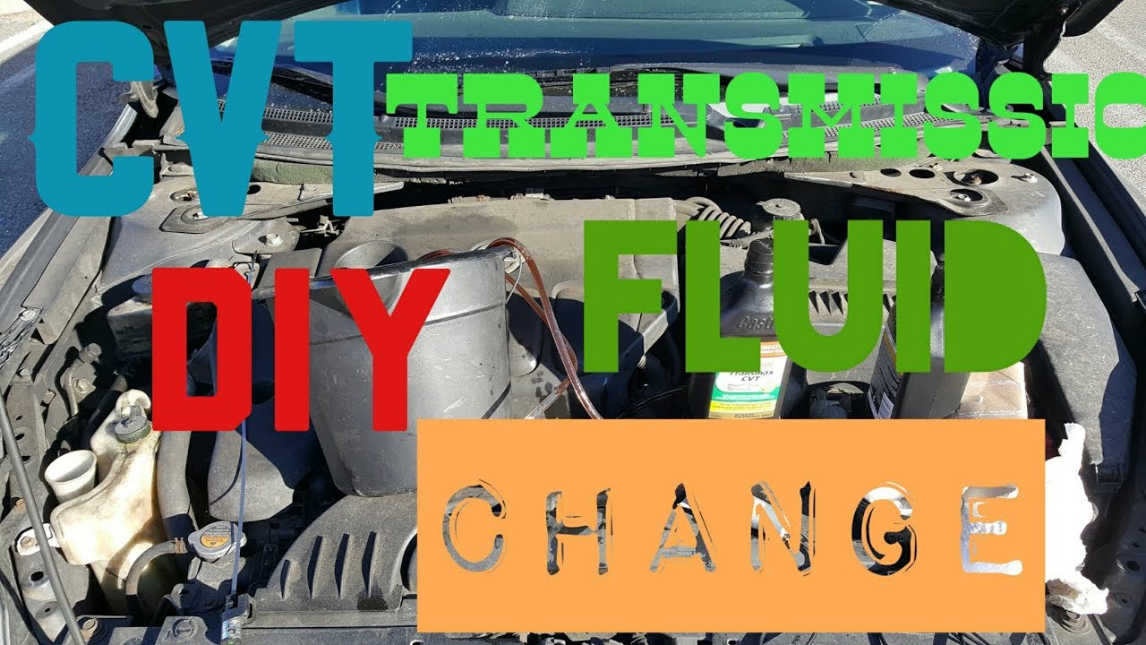 2008 Nissan Altima Diy Cvt Transmission Fluid Change Effects On Whine Limp Mode Etc