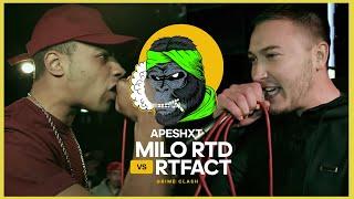 Milo RLD vs RTFact   Keeping It 140 Grime Clash