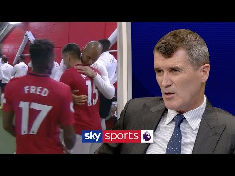 Roy Keane furious with Man United and Liverpool players for hugging in the tunnel