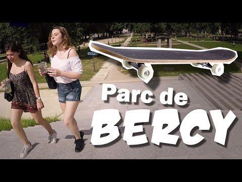 Parc de Bercy + Skatepark and Graffiti Wall | Explore France