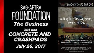 The Business: Q&A with CONCRETE AND CRASHPADS: STUNTS IN NEW YORK