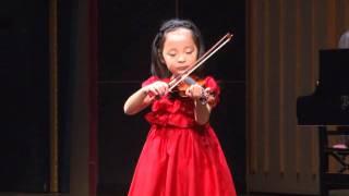2012.11.18 アルファーミュージック バイオリン発表会にて.