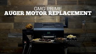 Green Mountain Grills Prime Support | Auger Motor Replacement