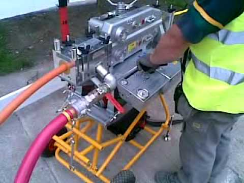 Alltec Fibre Ltd Blowing 144 Fibre Cable Youtube