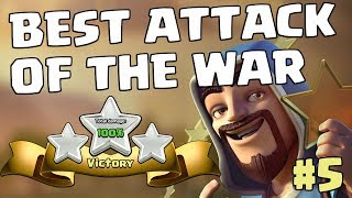 BEST ATTACK OF THE WAR #5 - TH10 QW DRAGONS | Mister Clash, Clash of Clans