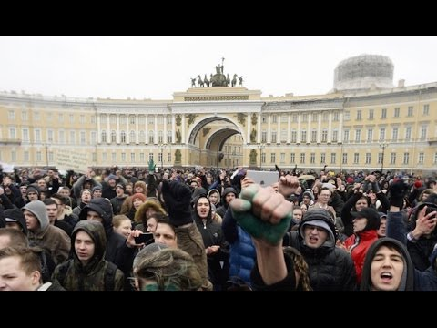 State Media Blackout As Anti-Putin Protests RAGE In Russia