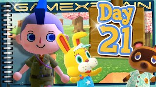 Animal Crossing: New Horizons - Day 21:  What Awaits? (Journal)