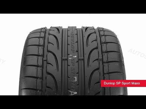 Обзор летней шины Dunlop SP Sport Maxx ● Автосеть ●