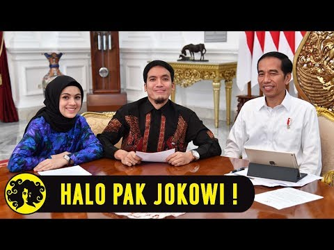 HALO PAK JOKOWI! with Desta & Gina in The Morning