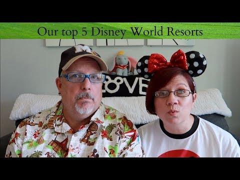 Our top 5 Walt Disney World Resorts